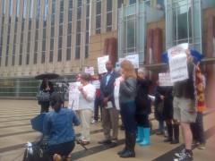 Jess Sundin, of the Anti-War Committee denounces conviction of 3 Somali youth