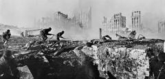 Fighting at Stalingrad