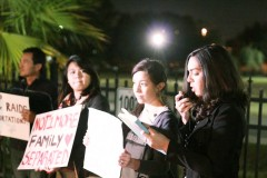 Immigrant's Rights Activists in Tampa Florida Demand Immediate Action