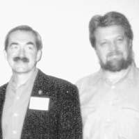Richard Berg con Tom Leedham