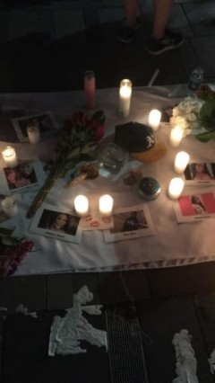 Brooklyn vigil for murdered Black women.