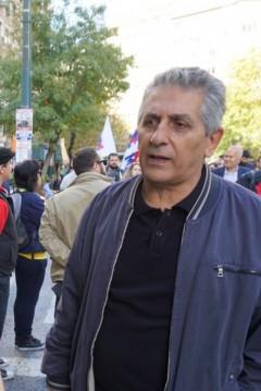 George Mavrikos, the General Secretary of the World Federation of Trade Unions (