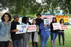 LA International Women's Day event demands 'Legalize my mom.'
