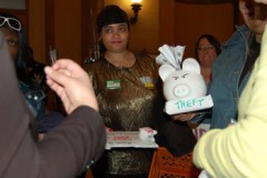 Members of Welfare Rights Committee at Senate Rules Committee meeting, April 15,