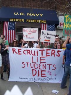"banner - ""Recruiters lie, students die."""