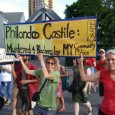 March for justice for Philando Castile in downtown Minneapolis, 7/9/16