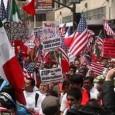 Una marcha grande en LA