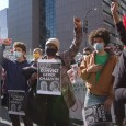 Thousands gather at Hennepin County Government Center, Minneapolis, MN, where Ch