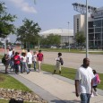 """Hurricane Katrina survivors at Astrodome in Houston, TX"""