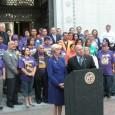Councilman Reyes, a Chicano politician, announces the official boycott of Arizon