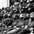 UC Berkeley Black Student Union organized a silent protest.