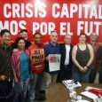 Members of the FRSO delegation with Venezuelan communist leaders.