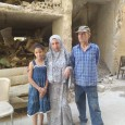Abeer Ali Naif with her Palestinian family.