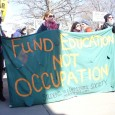 SDS at the March 20 anti war march