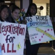 Students demand 'legalization for all' at Congressman Dennis Ross's town hall me