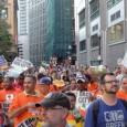 Occupy Boston march