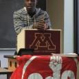 Javaris Bradford of the Black Student Union.