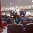 Members of SDS being removed from the Legislative committee meeting