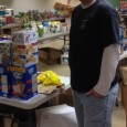 UAW Local 833 Emil Mazy Hall with donations for Kohler strikers