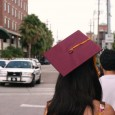 Undocumented Students protest in fear of ICE and police deportation.
