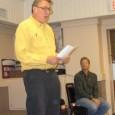 Joe Callahan speaking at October 13 rally.