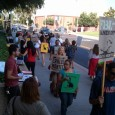 """Picket demands """"Drop the Charges against Carlos Montes."""""""