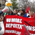 No More Deportations contingent at May 1 march in St. Paul