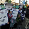 Palestinian Youth protesting outside Israeli Embassy in Washington