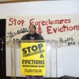 Rosemary Williams speaks at mass meeting of MN Coalition for a People's Bailout.