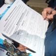 Signing pledge to resist Grand jury and FBI repression.