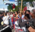 Marching against Trump at Cleveland RNC